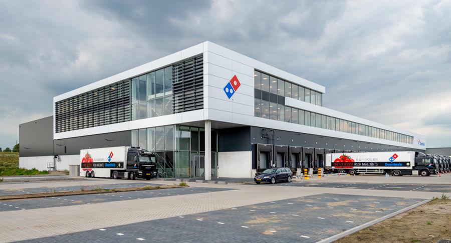 Ontwikkeling Domino Pizza
